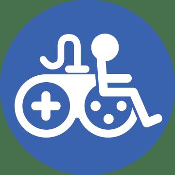 Icono para la accesibilidad en videojuegos.