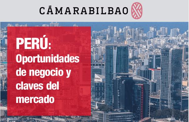 Portada de la jornada perú: oportunidades de negocio y claves del mercado