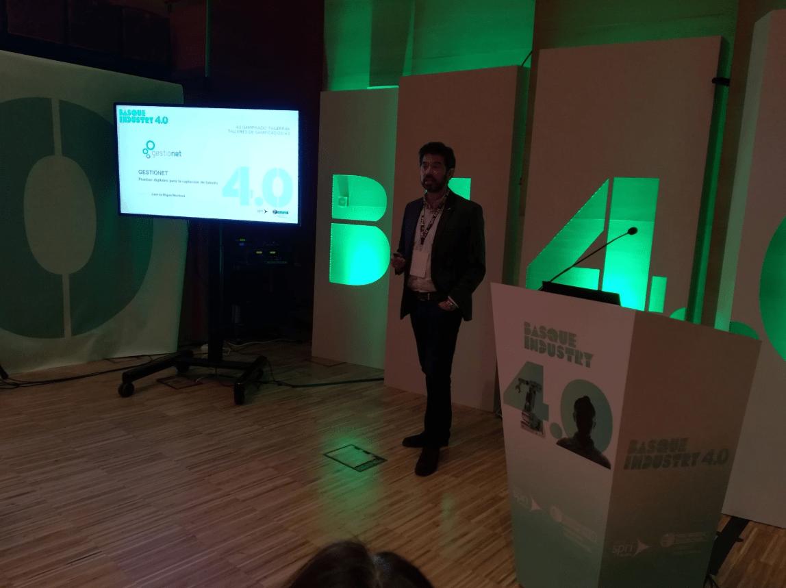 Gestioner ha participado en la última edición de Basque Industry 4.0
