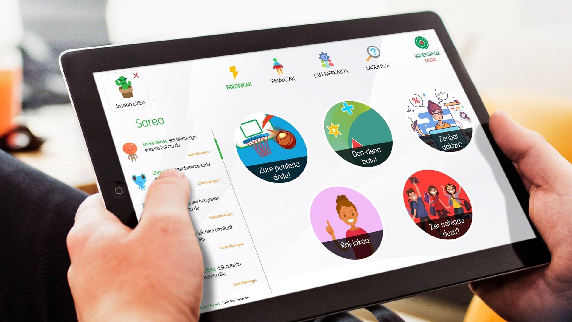 Kids & Skills es la herramienta digital de Bizkaia Talent en la que Gestionet ha colaborado para su desarrollo