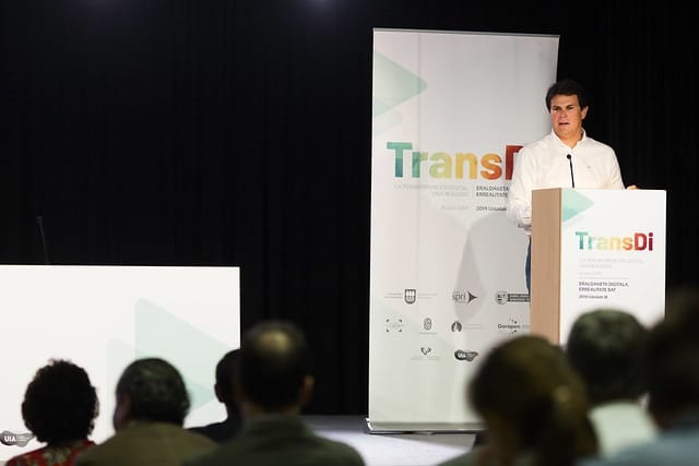 Imagen de la participación de Gestionet en el foro TransDi.