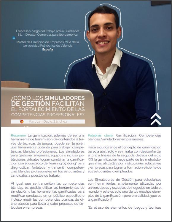 Gestionet aparece en la VI edición de la revista EVUlution