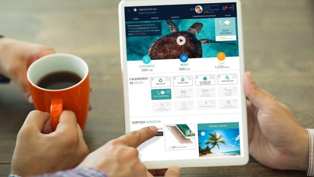 Wave Of Change es un proyecto desarrollado por Gestionet para Iberostar.