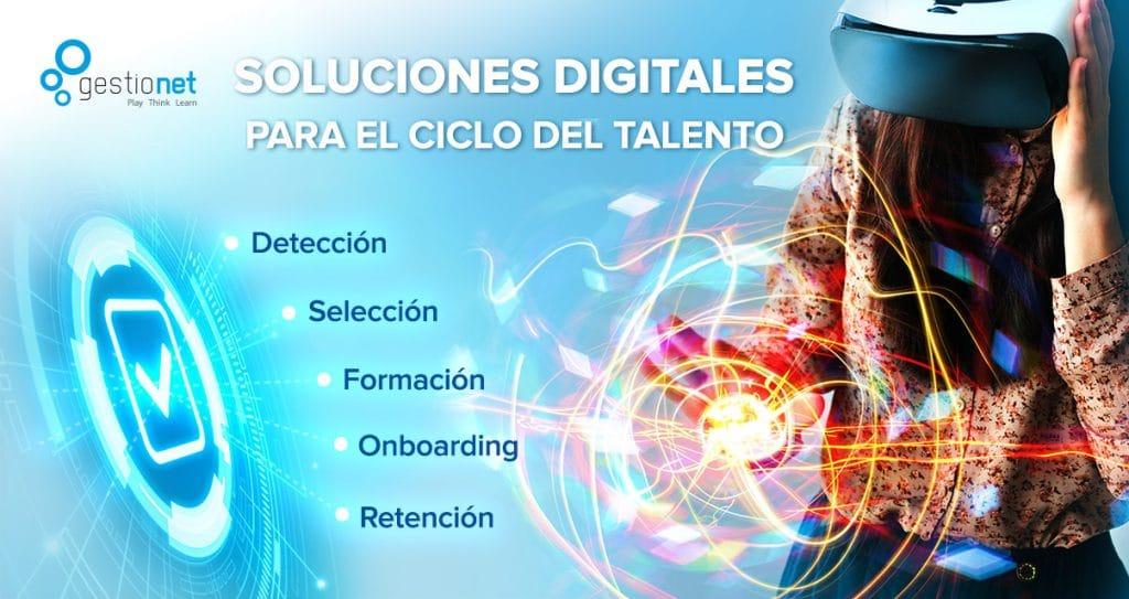 Gestionet es experto en soluciones digitales usando la gamificación en el ciclo del talento.