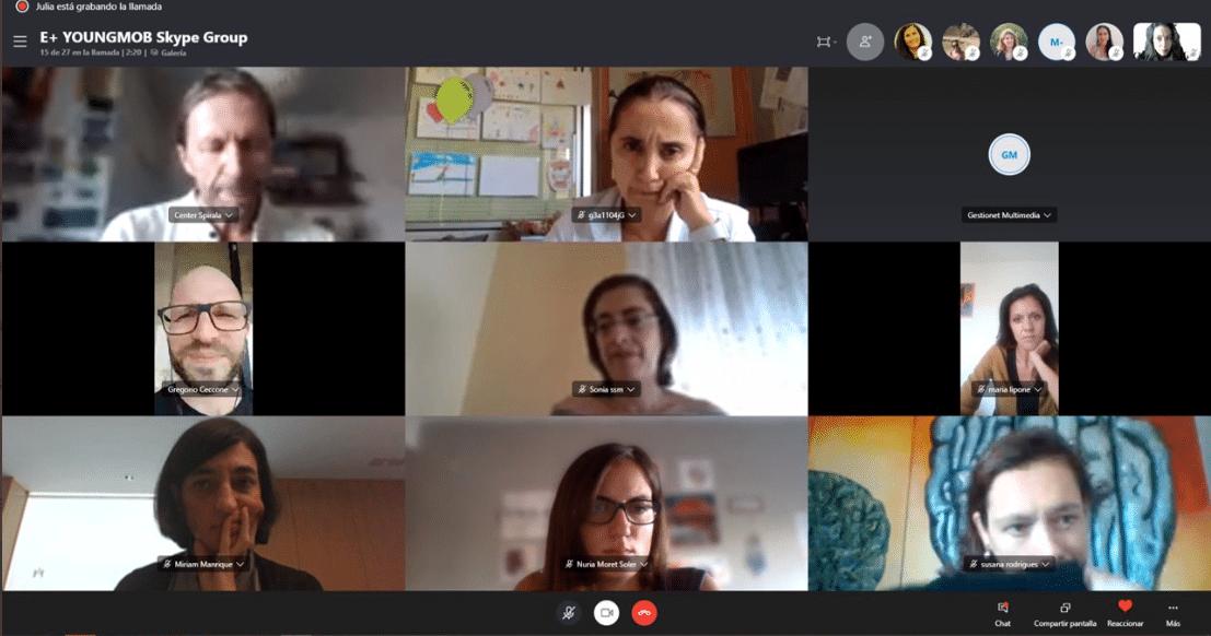 Segunda reunión del proyecto YoungMob.